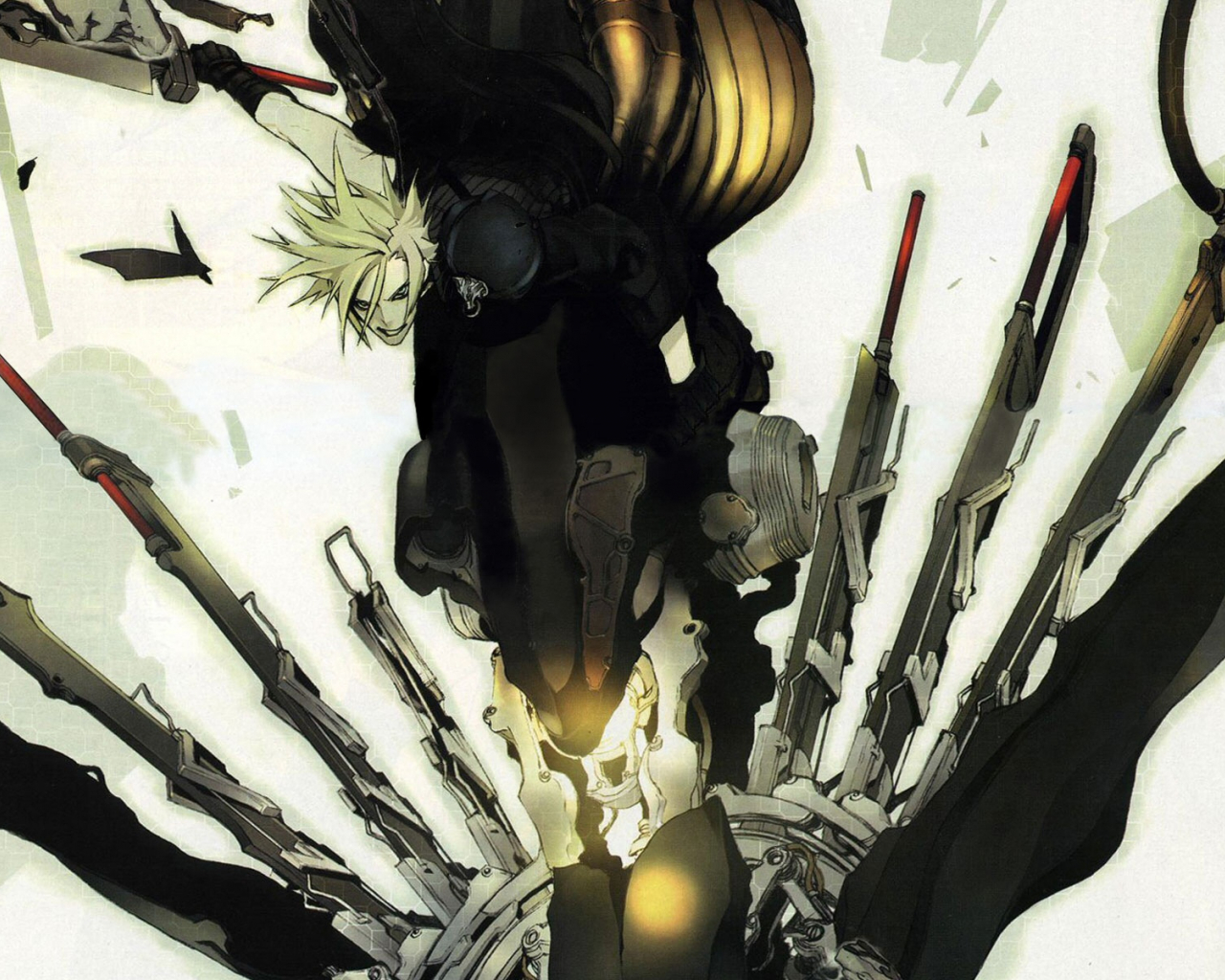 1600x1200px final fantasy 7 advent children wallpaper - wallpapersafari