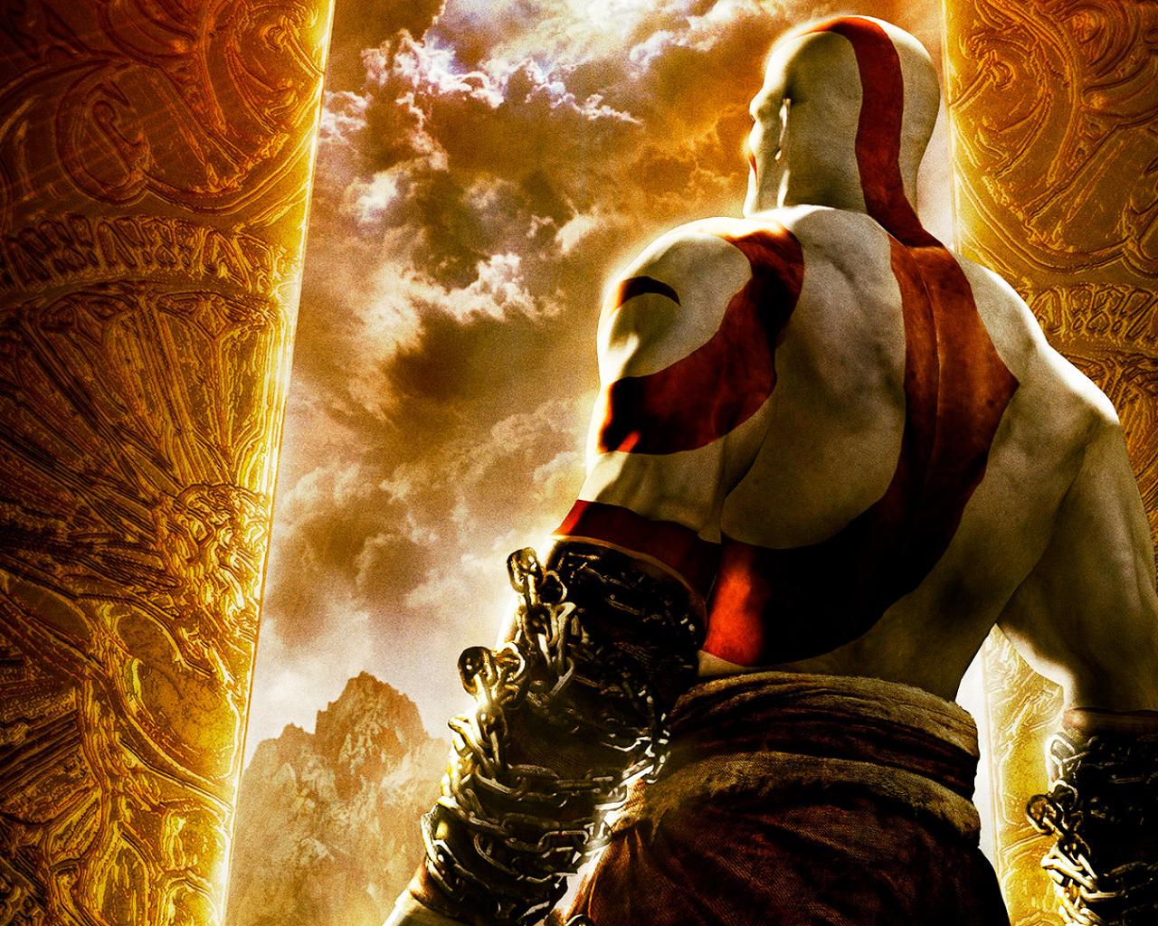 Free Download Games Wallpapers God Of War 3 Wallpaper Kratos