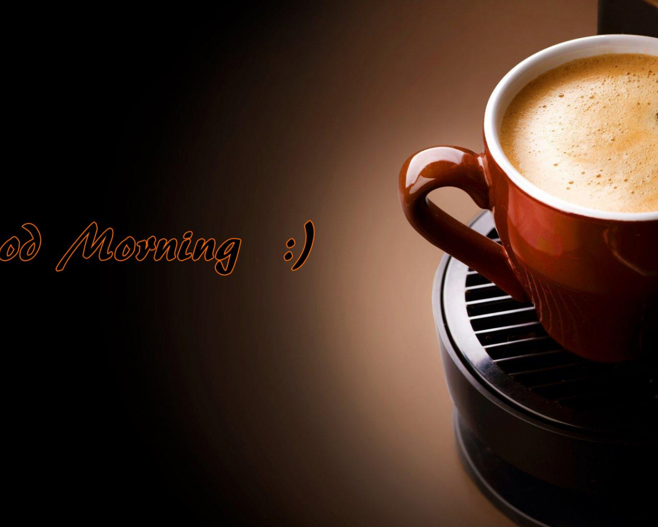 Free Good Morning Coffee Quotes HD Wallpaper