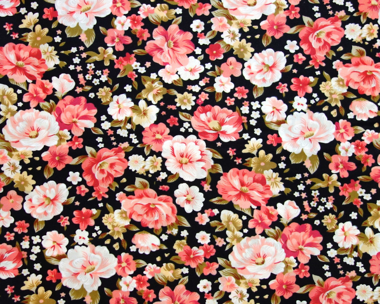 Free Download Flower Print Background Tumblr Floral Print