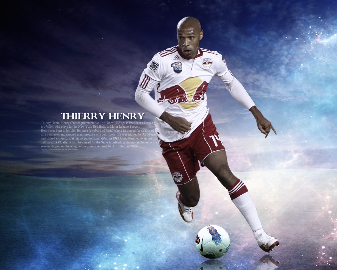 Free Download Thierry Henry Red Bulls New York Wallpaper