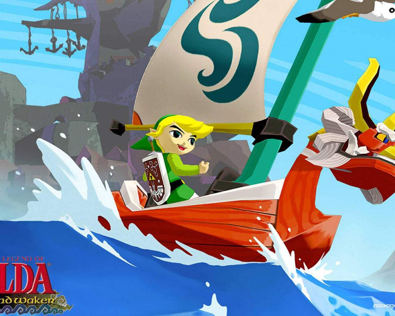 Free Download The Legend Of Zelda Wind Waker Hd Wallpapers