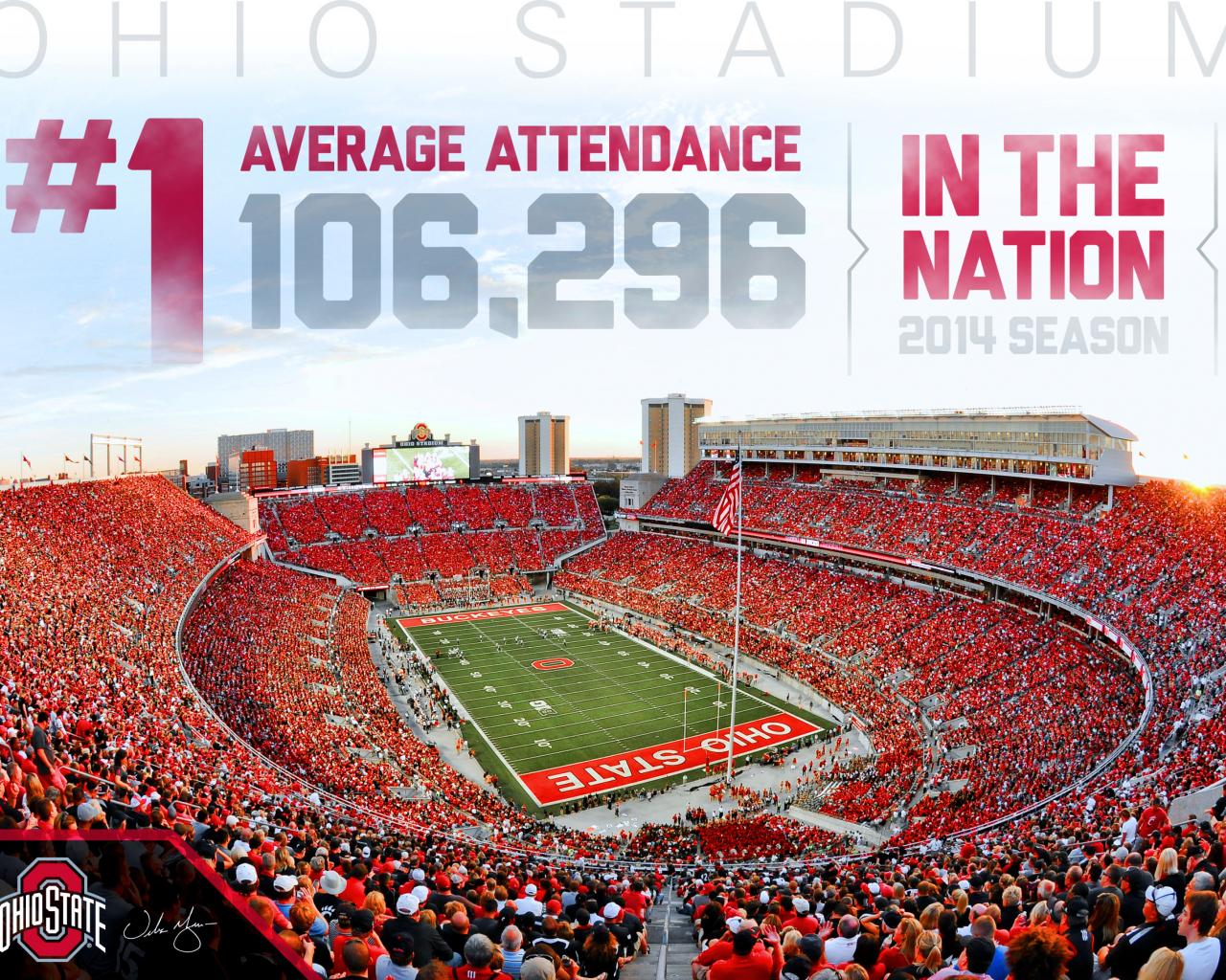 Ohio Stadium Desktop Wallpaper