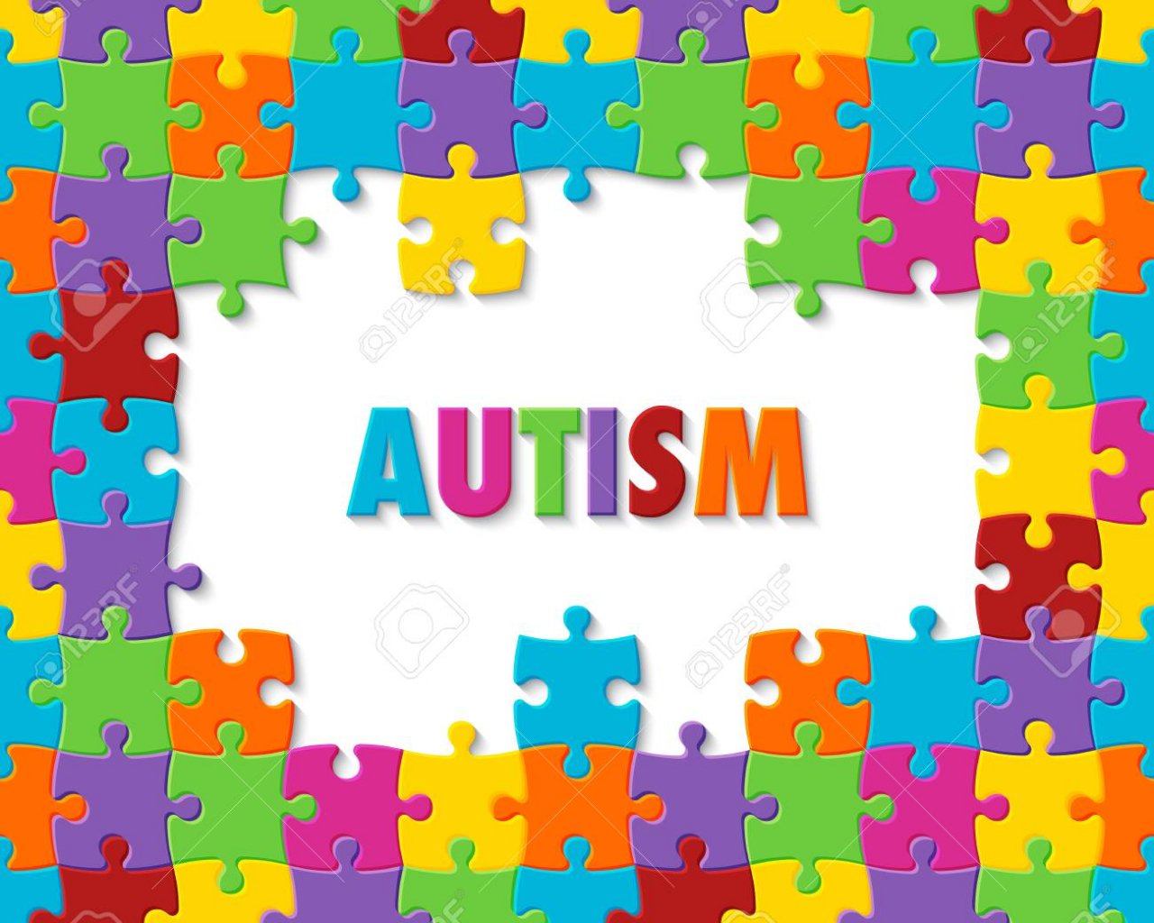 Free Download World Autism Awareness Day Colorful Puzzle Background Royalty 1300x1300 For Your Desktop Mobile Tablet Explore 50 Awareness Background Awareness Background Cancer Awareness Wallpaper Breast Cancer Awareness Wallpaper