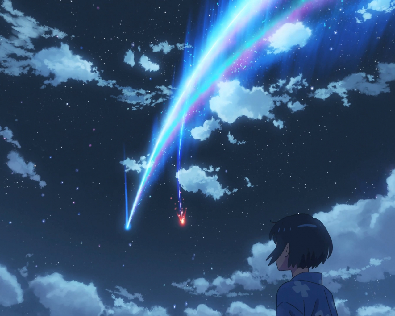 Free Download Oc Kimi No Nawa Your Name Meteor Mitsuha 4k By Total Chuck 3840x2160 For Your Desktop Mobile Tablet Explore 46 Anime 4k Your Name Wallpapers Anime 4k