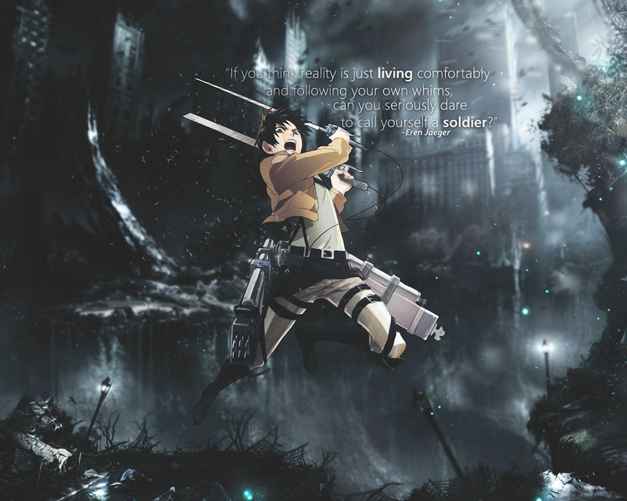 Free Download Eren Jaeger Attack On Titan Wallpaper 2340