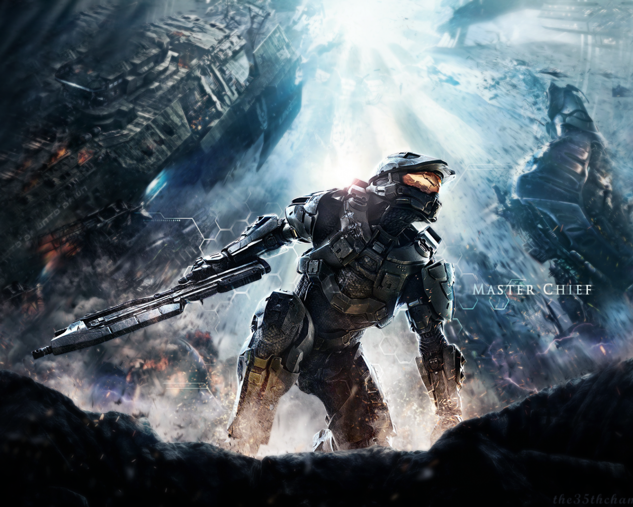 Free Download Halo 4 Master Chief Wallpaper 137362 1920x1080 For