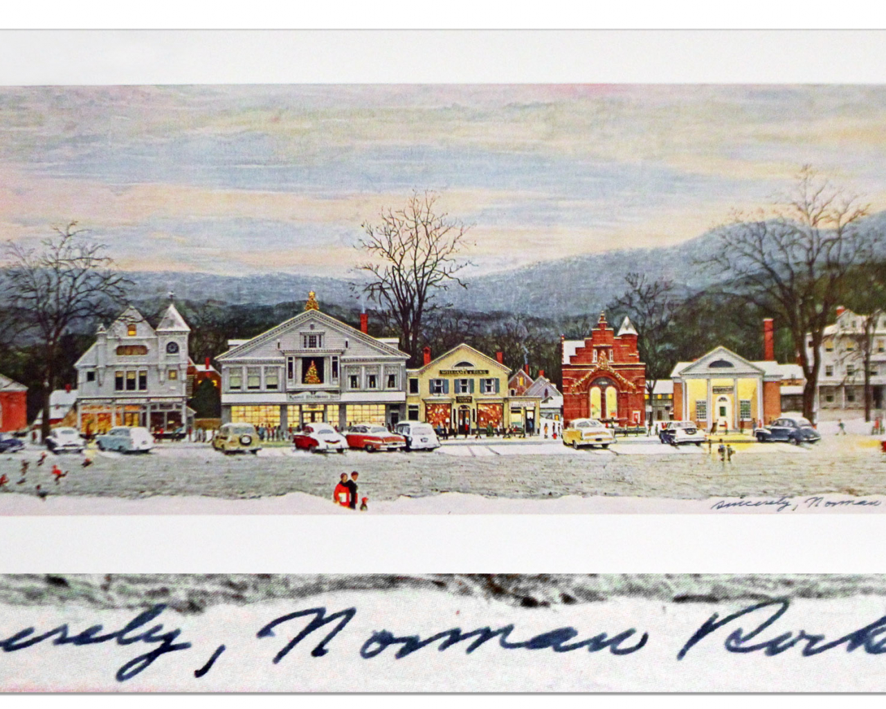 2520x1187px Norman Rockwell Christmas Wallpaper Free - WallpaperSafari