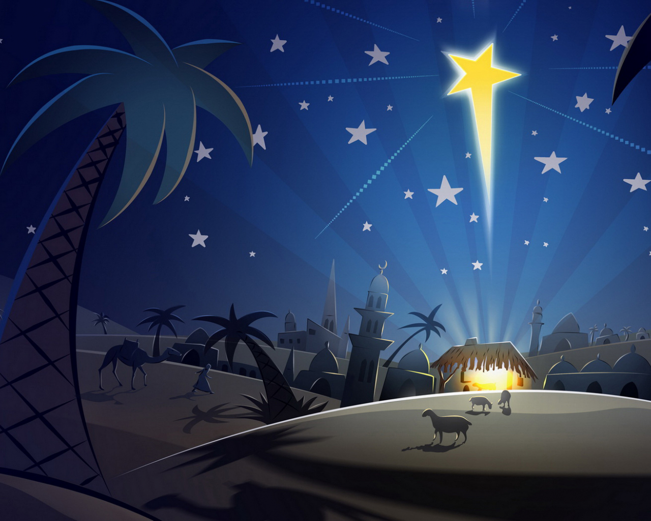 The Night Before Christmas Wallpaper Wallpapers