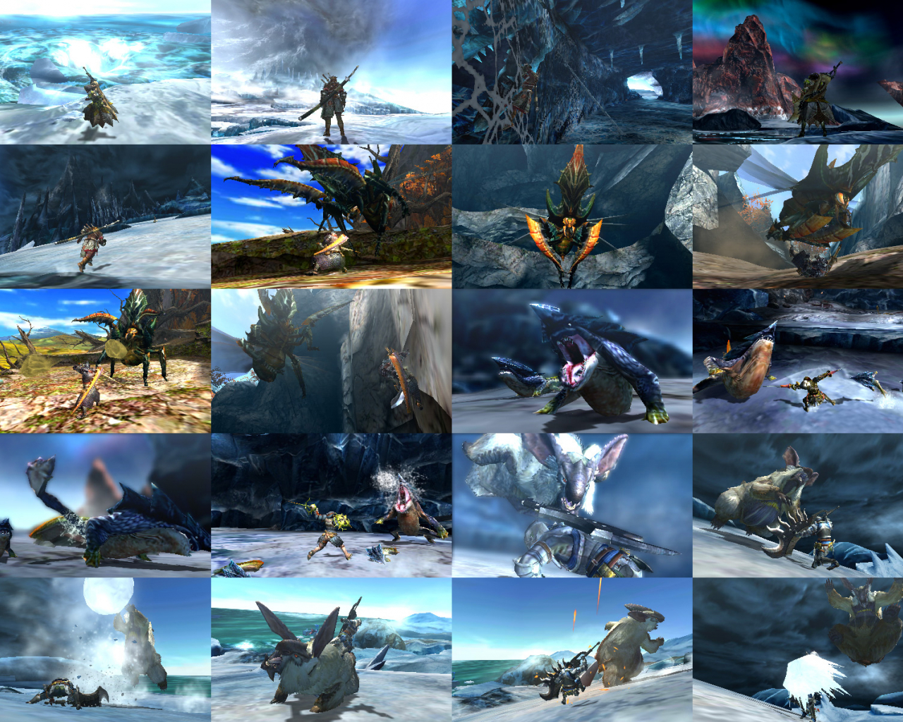 Free Download Monster Hunter 4 Ultimate Video Game Wallpapers