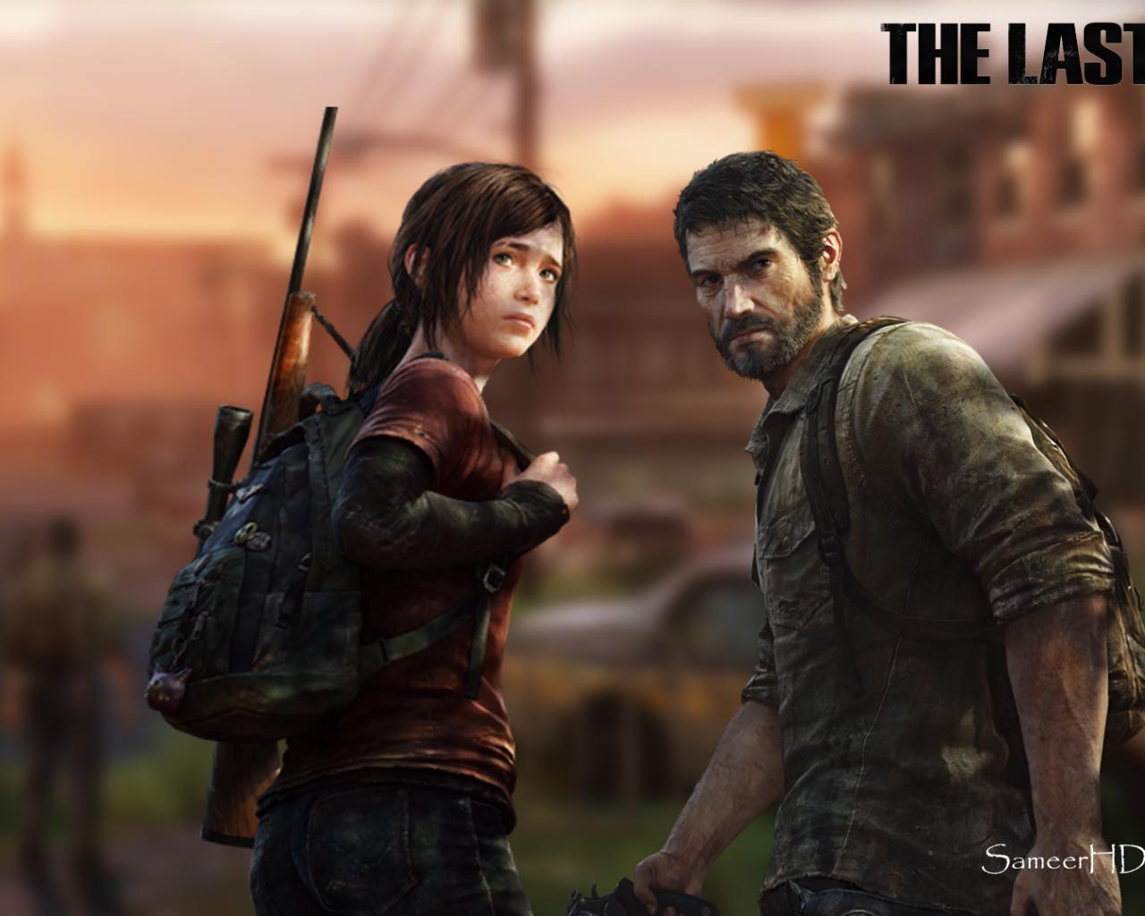Free Download The Last Of Us Joel And Ellie Wallpaper By Sameerhd