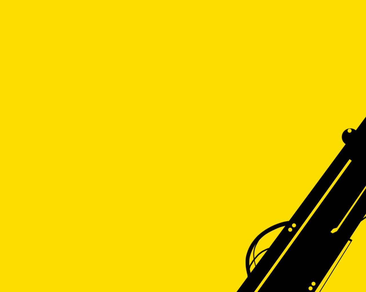 Free Download Black Gun On Yellow Background Wallpaper Pc Wallpaper With 1920x1080 1920x1080 For Your Desktop Mobile Tablet Explore 47 A Yellow Wallpaper The Yellow Wallpaper Symbolism Yellow Wallpaper