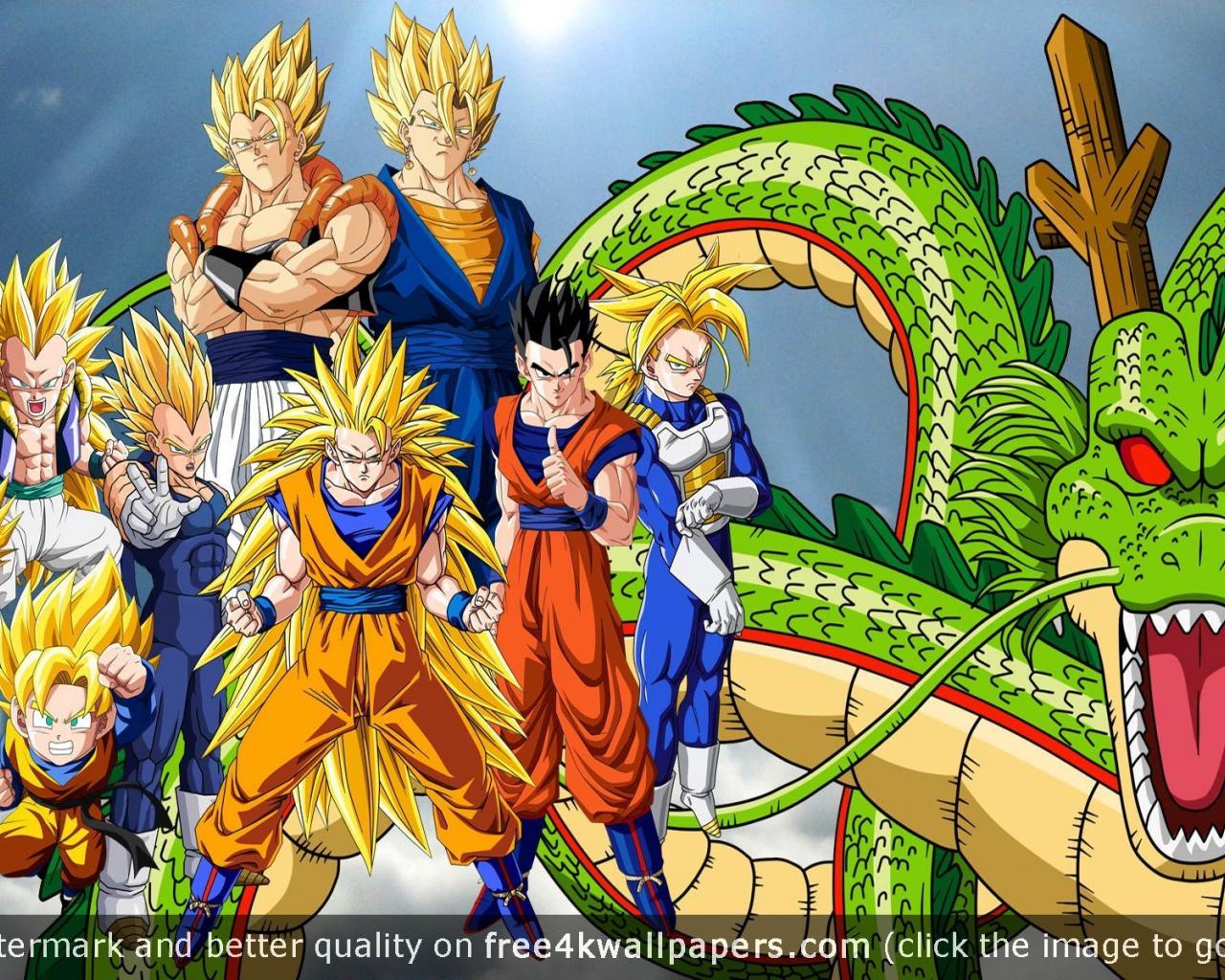 Anime Wallpaper Hd Dragon Ball Z 4k Phone Wallpaper