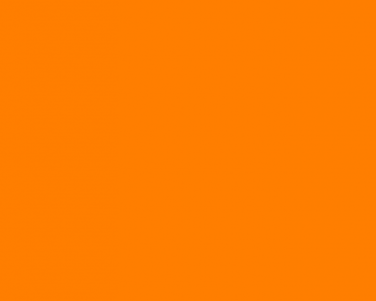 2880x1800px Solid Orange Wallpaper