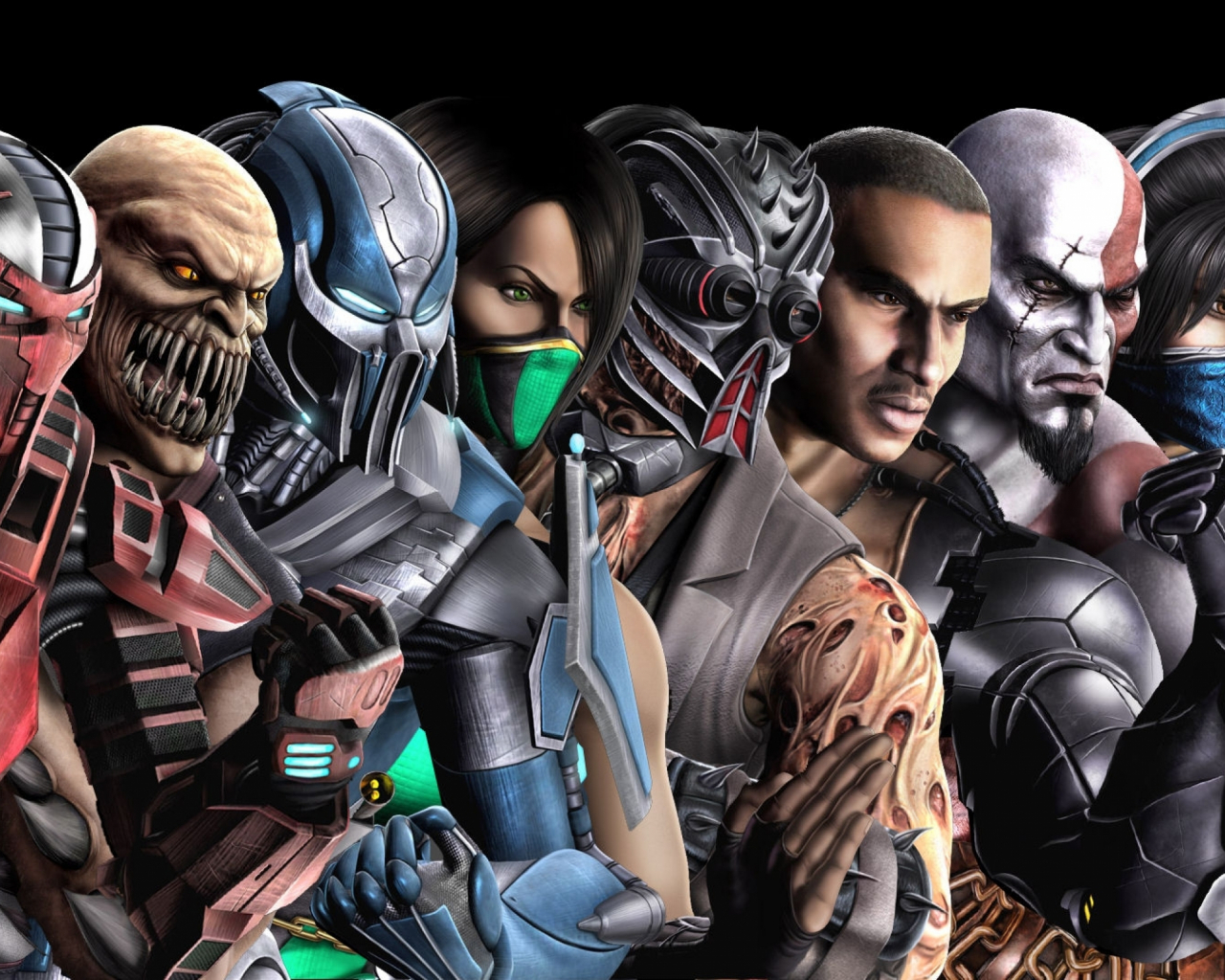 Free Download Mortal Kombat Characters Raiden Multiscreen Conical