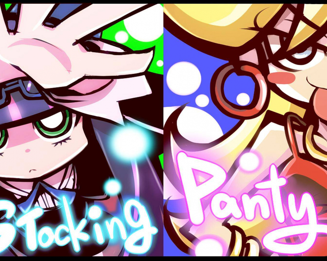 Free Download 428661 Panty And Stocking With Garterbelt Stocking