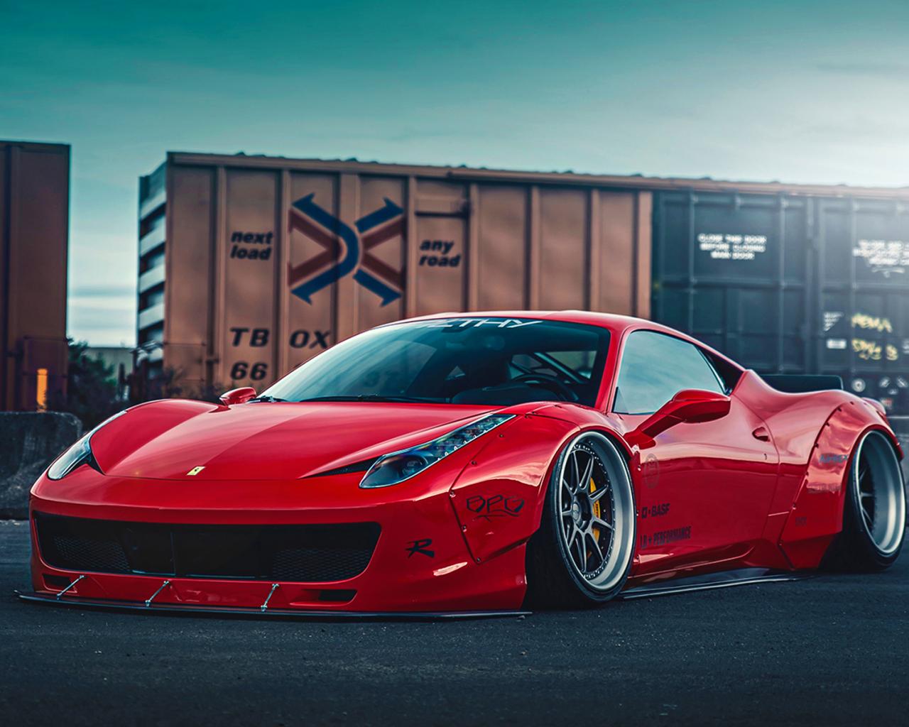 Free Download Ferrari 458 Liberty Walk 2 Wallpaper Hd Car