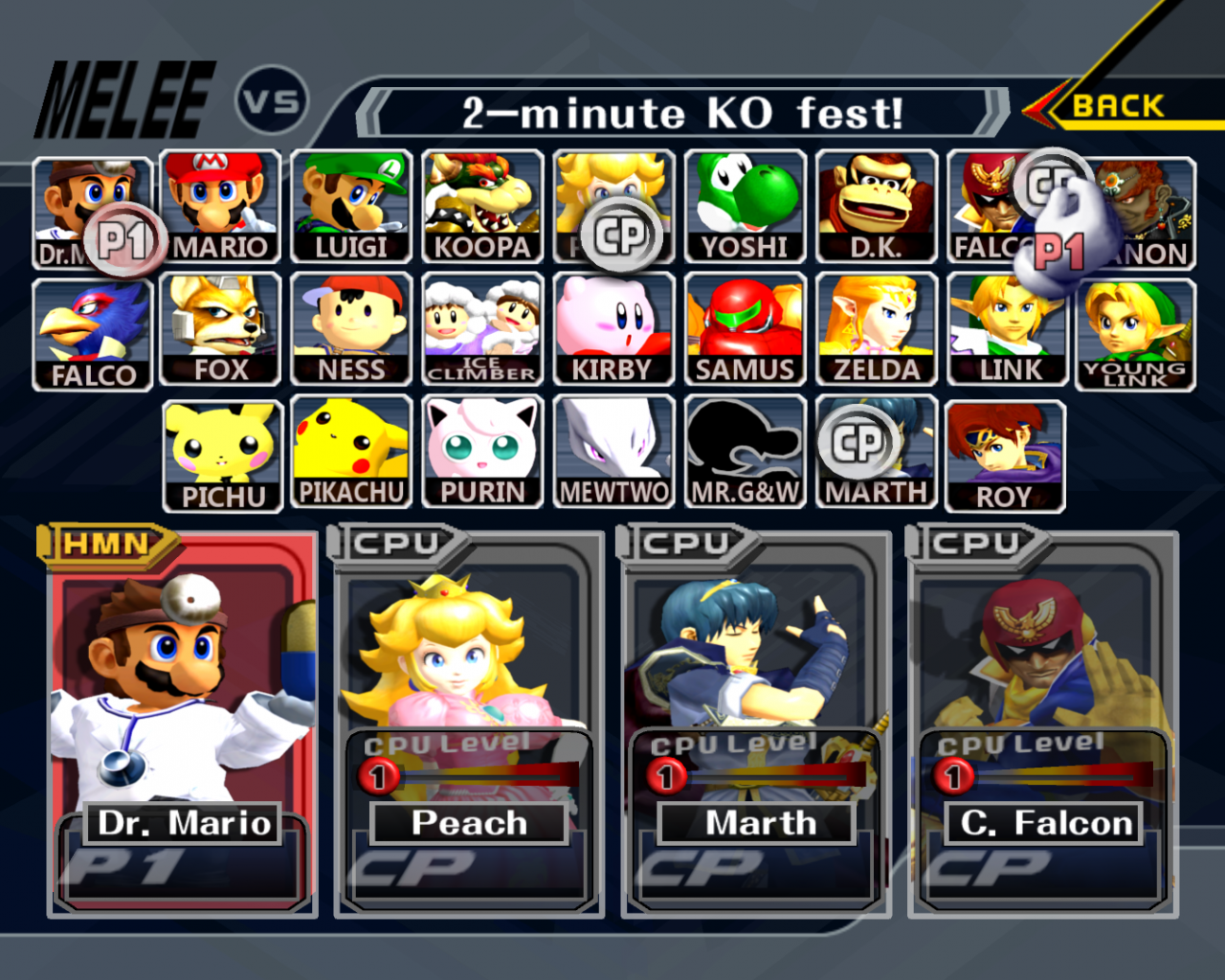 Free Download Super Smash Bros Melee Wallpaper 1920x1080 Super