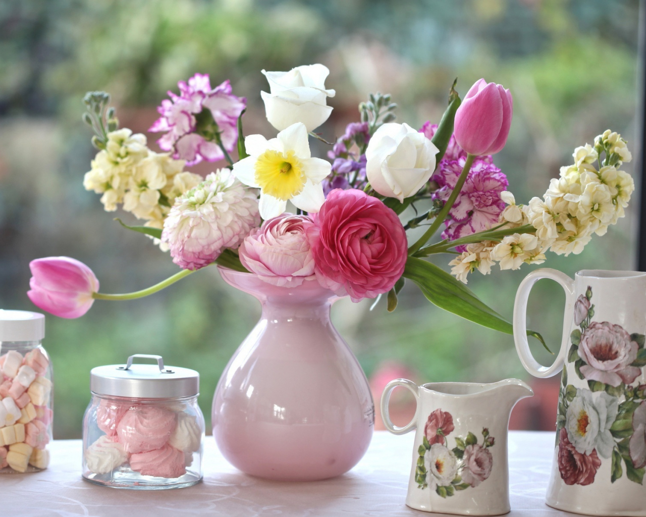 открытка доброе утро большие цветы марта солнца цветов