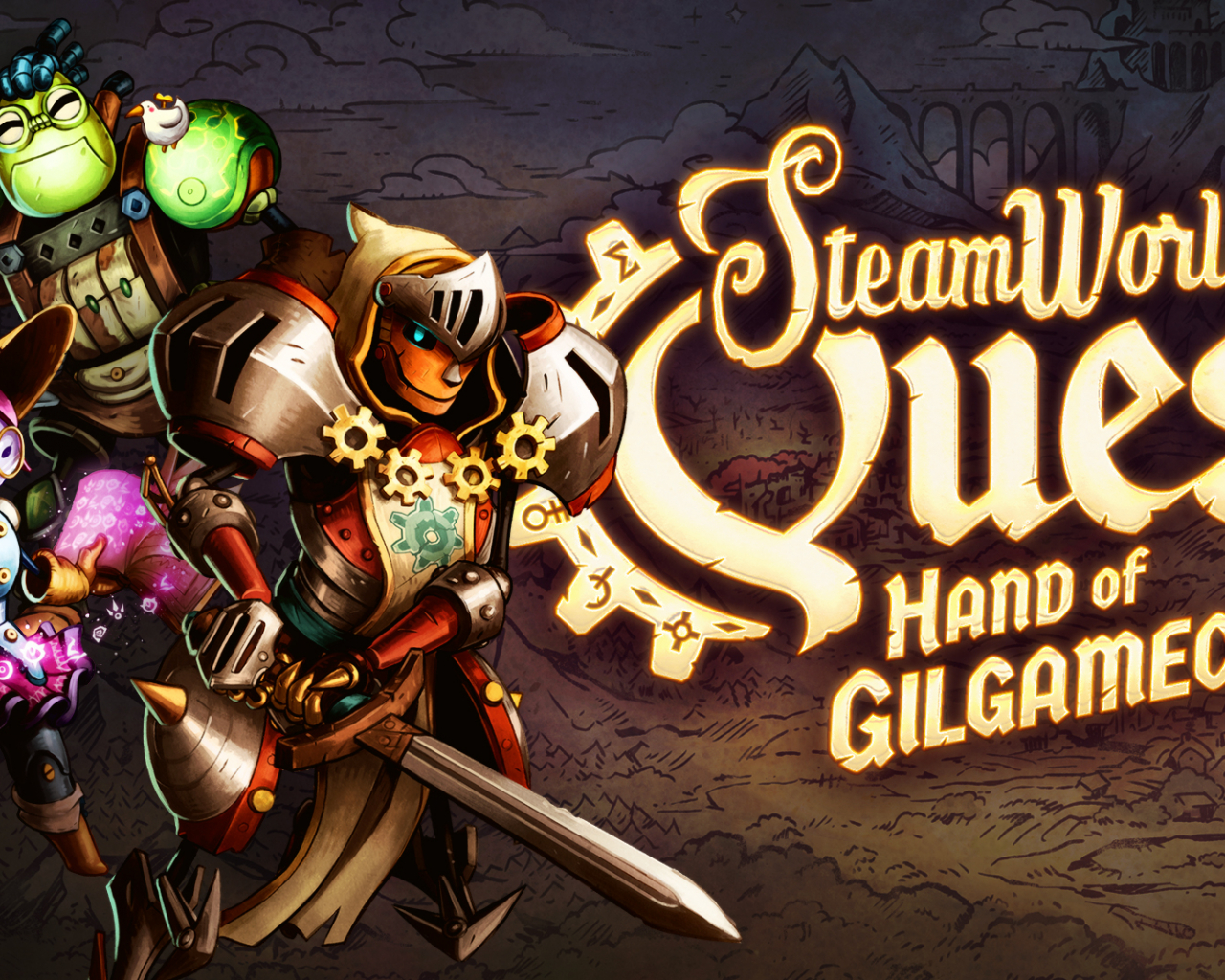 steamworld quest official website image form games