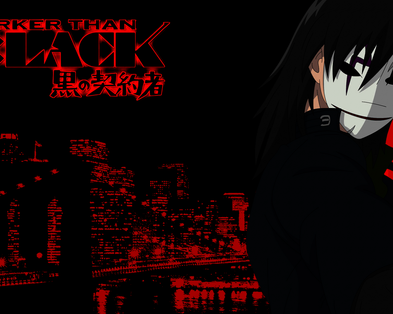 Free Download Darker Than Black Hei And Yin 1680x1050 For Your