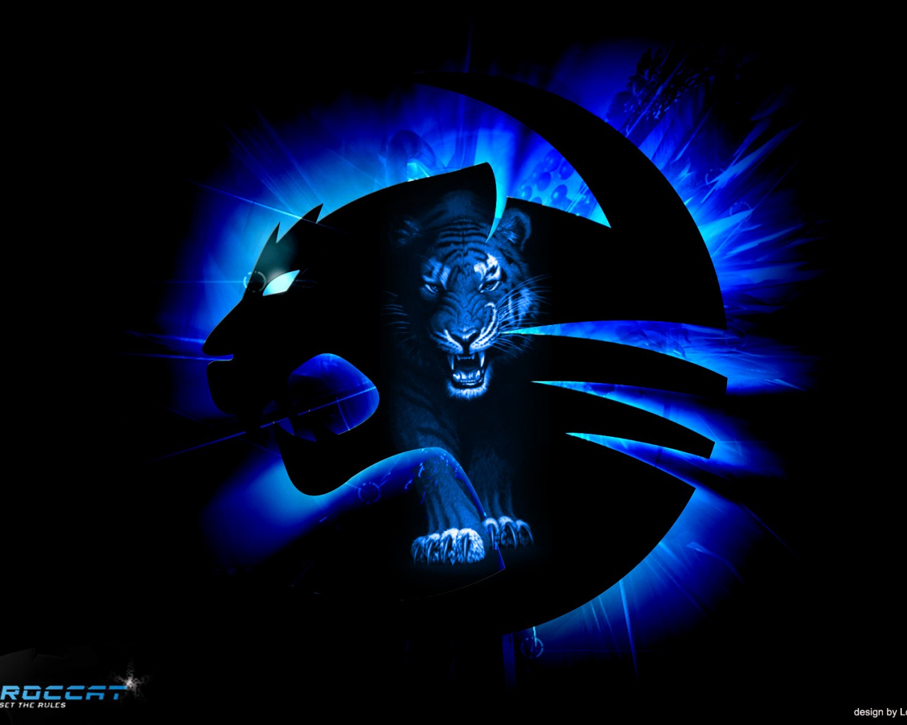 Free Download Roccat Gaming Computer Wallpaper Background 1680x1200 For Your Desktop Mobile Tablet Explore 46 Blue Gaming Wallpaper Blue Desktop Wallpaper Dark Blue Wallpaper Blue Color Background Wallpaper