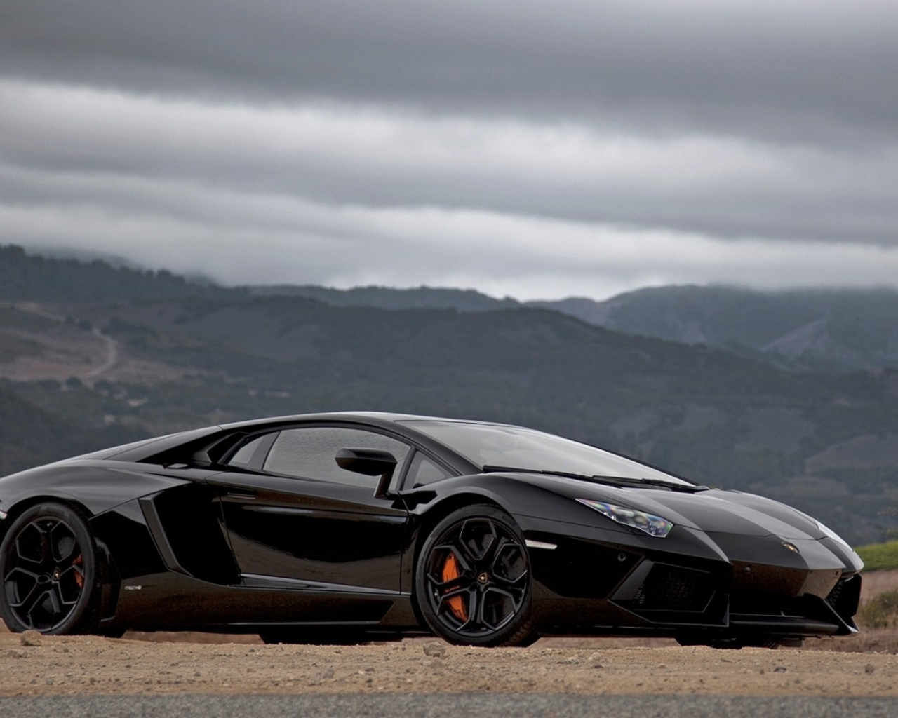 Free download Lamborghini Aventador Black 1080p HD ...