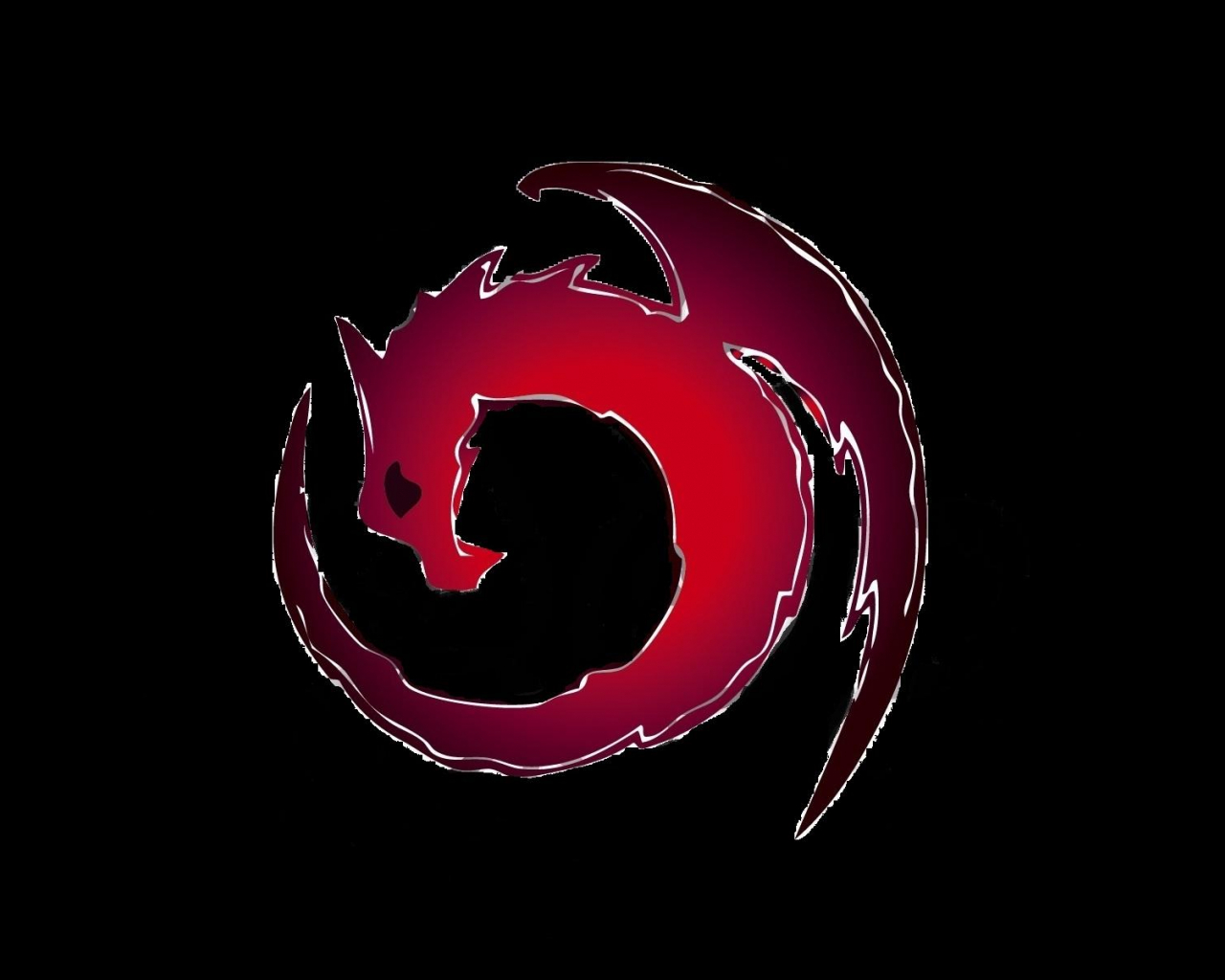 Free Download Red And Black Dragon Wallpaper Creative Red And