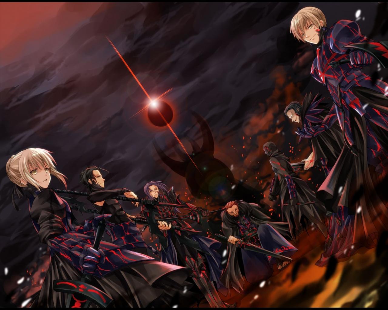 Free Download Fate Stay Night Fate Zero Gilgamesh Jpeg Artifacts