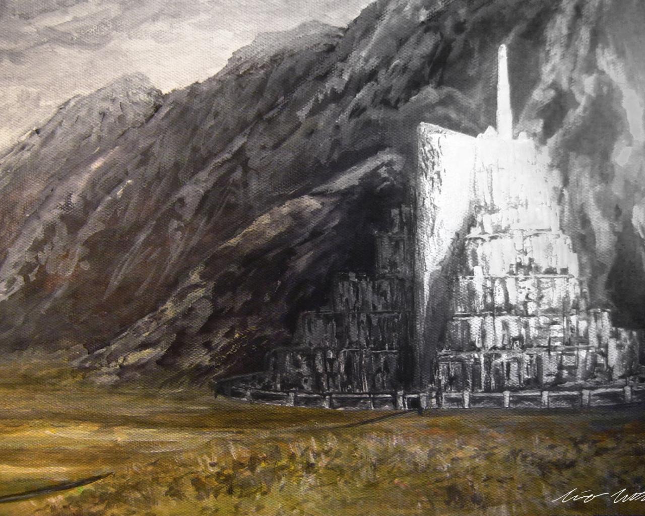 Free Download Fondos De Pantalla De Minas Tirith Wallpapers