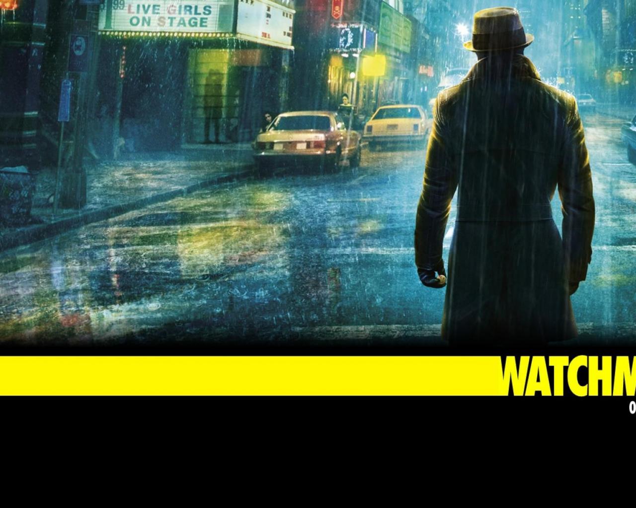 Movie Rorschach Wallpaper Customity