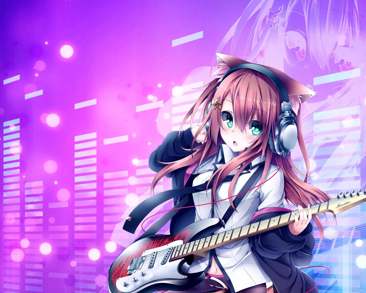 Girl cute gamer anime Game Anime