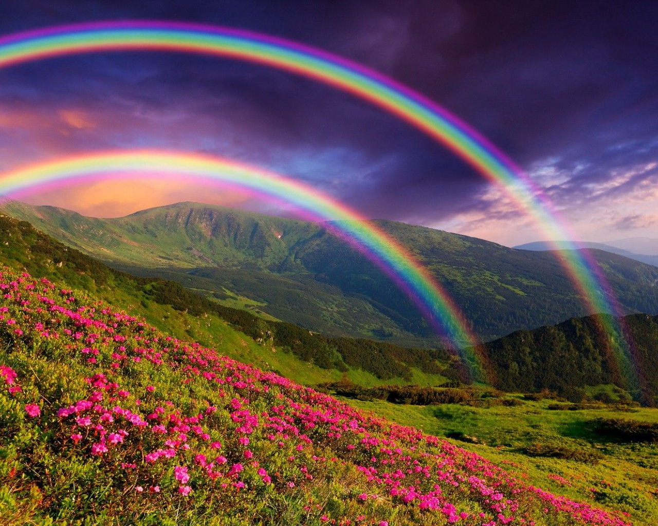 Free Rainbow Sky Wallpapers Top Rainbow Sky
