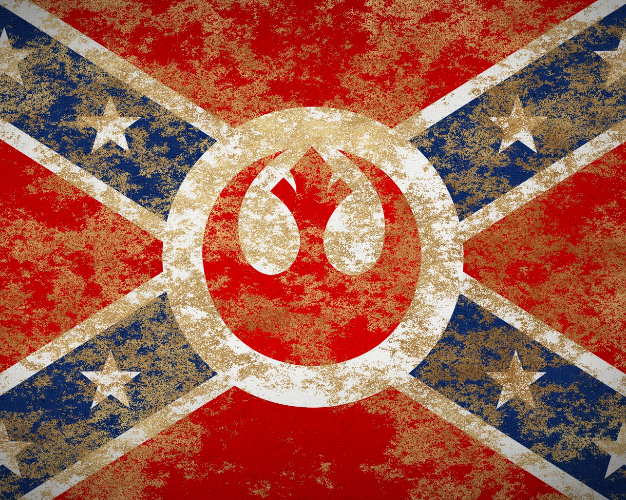 Wallpaper rebel confederate flag