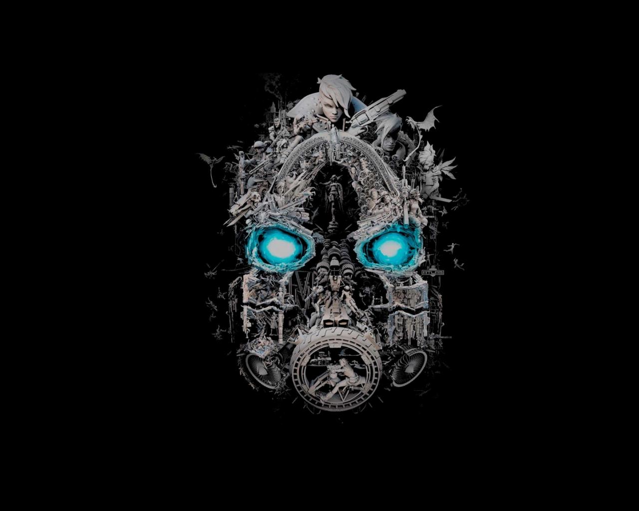 Free download 20x20 Borderlands 20 Mask of Mayhem 20x20 ...