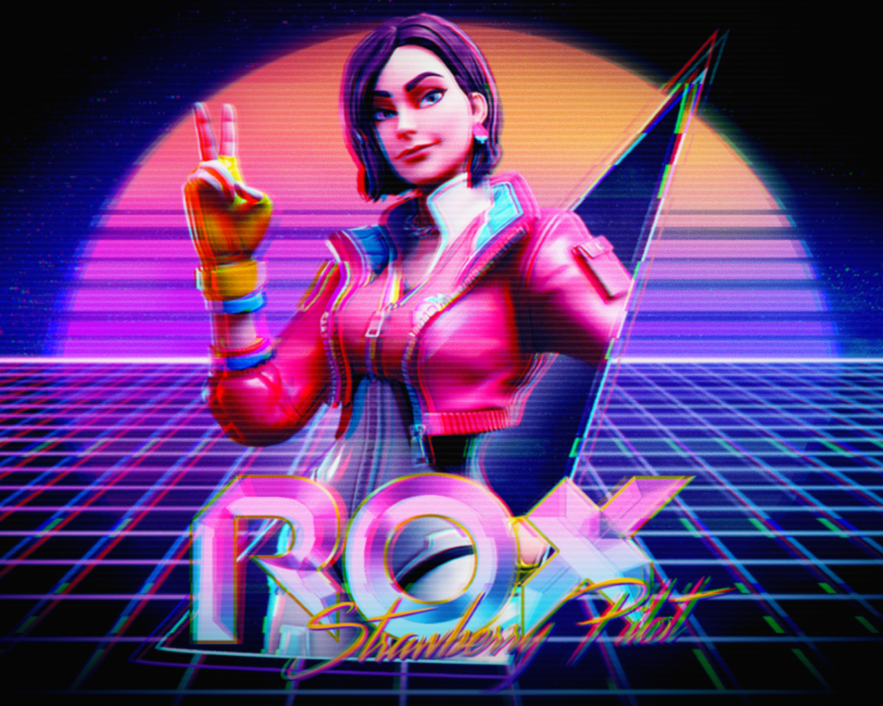 Free Download Inspired By The Neon Theme This Season I Made This Quick Wallpaper 1920x1080 For Your Desktop Mobile Tablet Explore 8 Rox Fortnite Wallpapers Rox Fortnite Wallpapers Fortnite