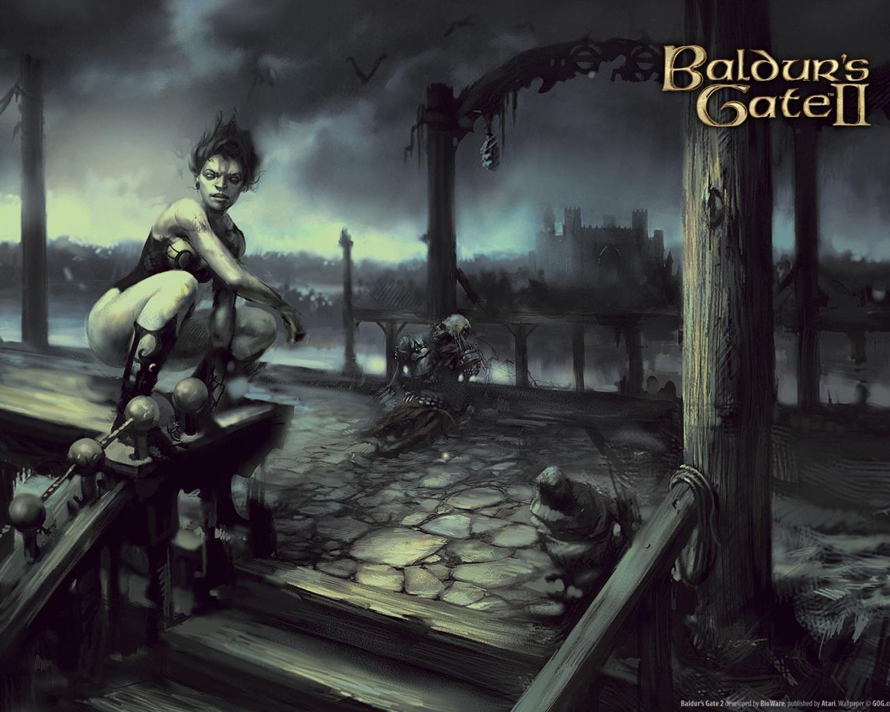 Free Download Vampires Baldurs Gate Vampire Hd Wallpaper