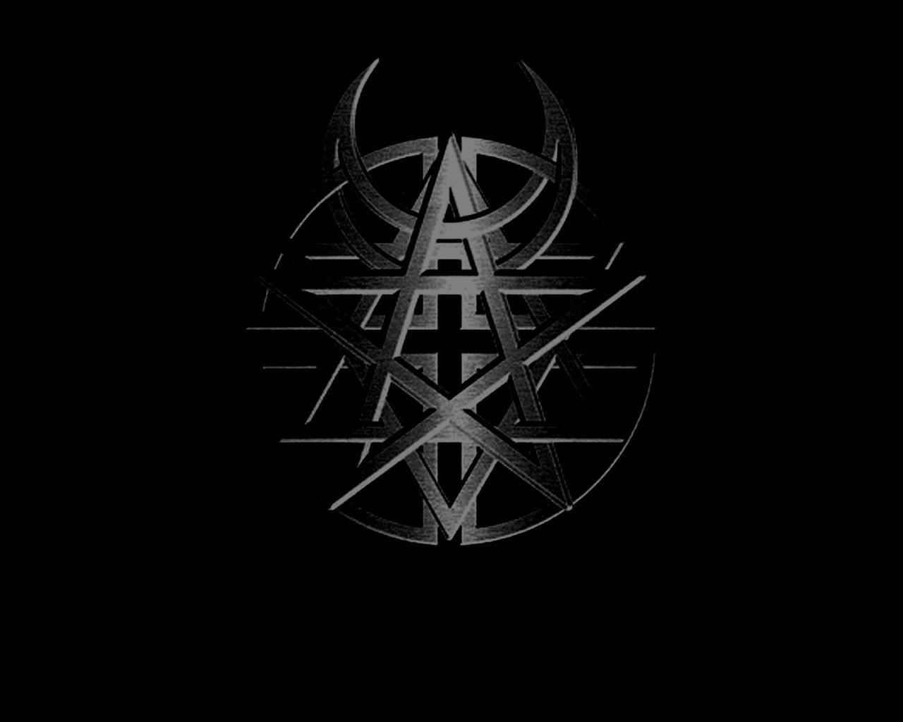 disturbed logo wallpaper - HD1280×1024