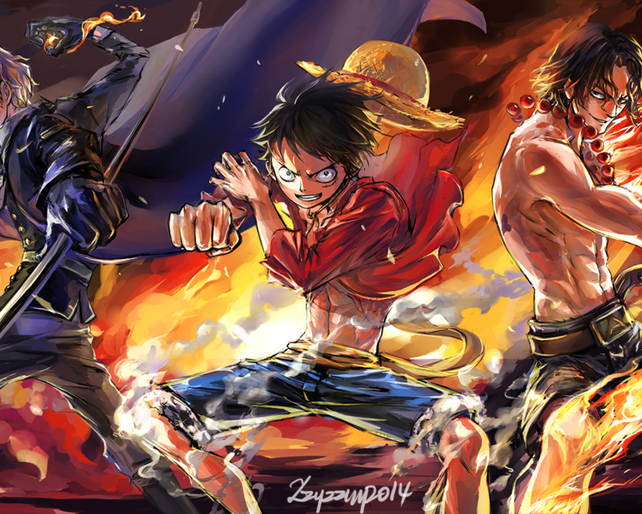 One Piece Wallpapers Hd Wallpapersafari
