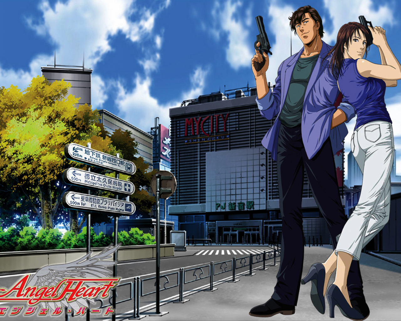 Free Download Japanese Wallpapers City Hunter Wallpapers