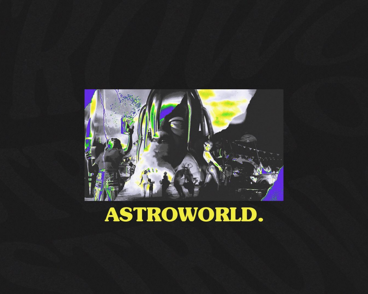 Free Download Astroworld Wallpaper Design 1080p Travisscott