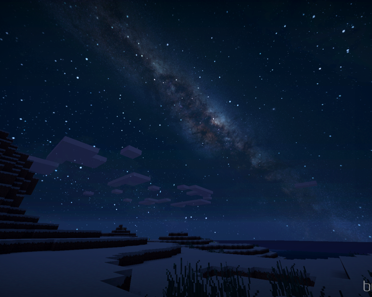 Free Download Beauty Of Minecraft At Night Background Minecraft 1680x1028 For Your Desktop Mobile Tablet Explore 30 Minecraft Space Background Minecraft Space Background Minecraft Background Wallpapers Minecraft