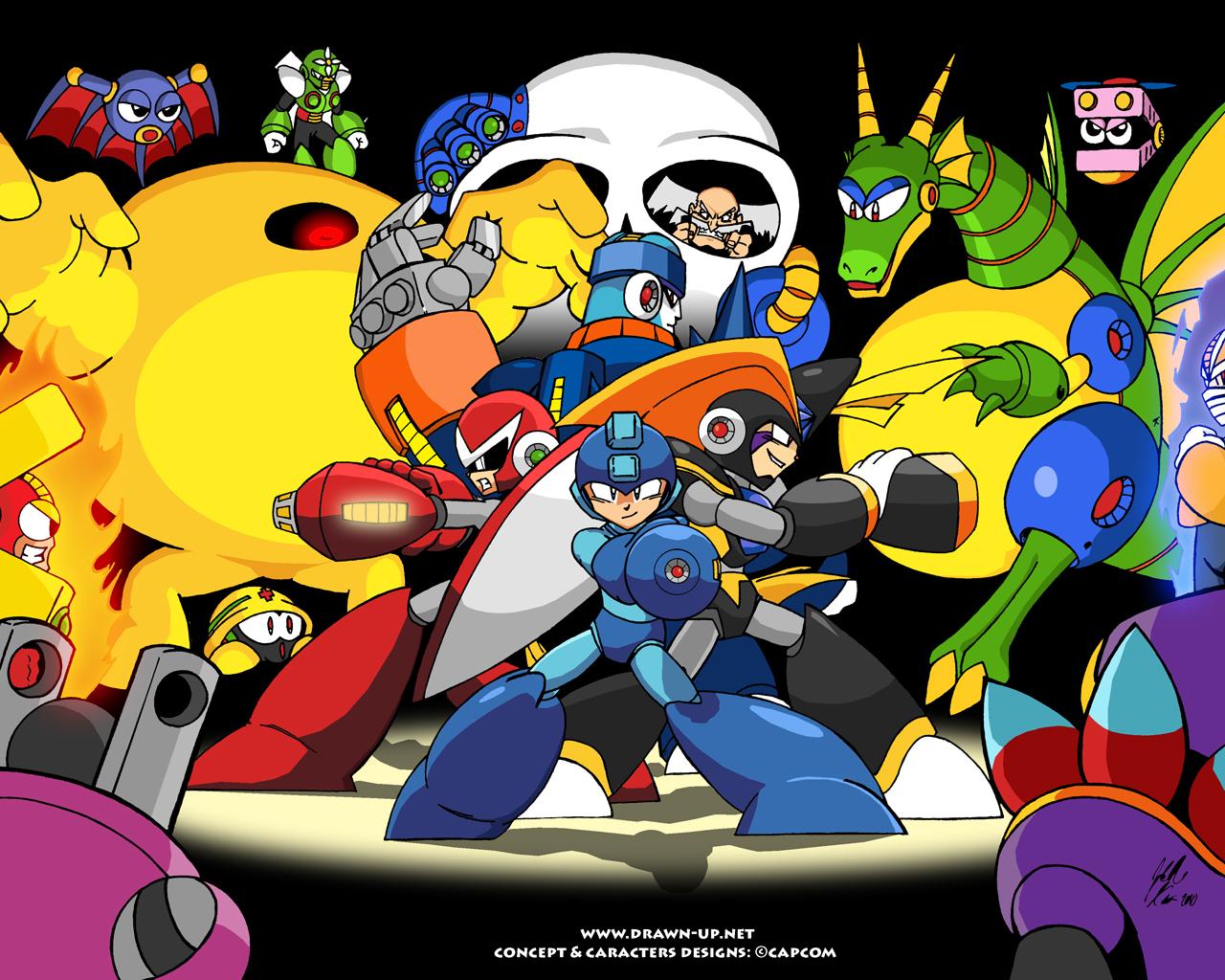 Free Megaman Wallpaper By Johnny Tran On DeviantART