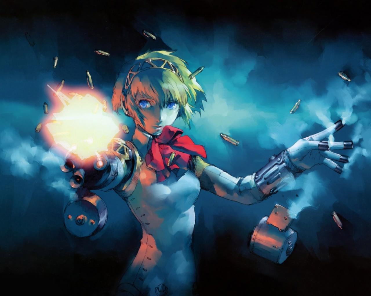 Free Download Aigis Shin Megami Tensei Persona 3 Wallpaper 10025