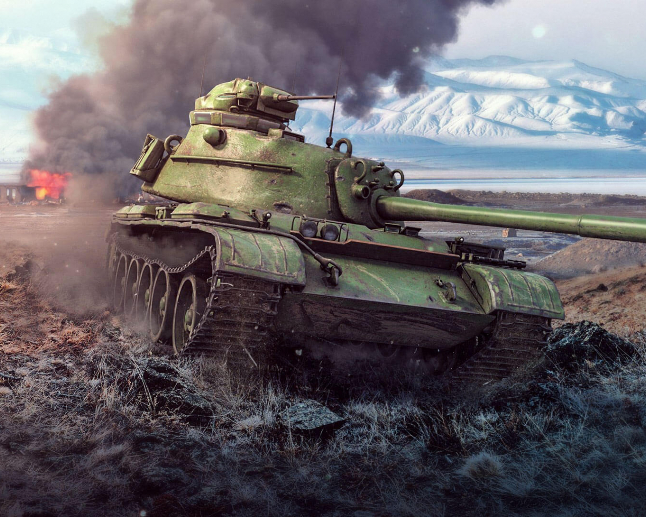 Free Download World Of Tanks Blitz The Formidable Hybrid 59 Patton