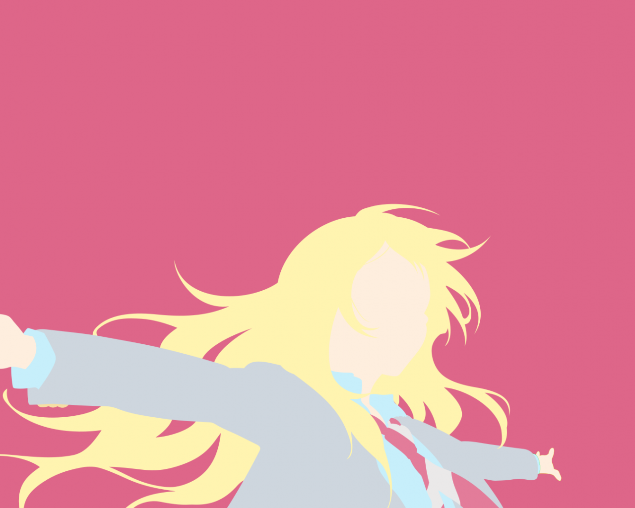 Free Download Minimalist Wallpaper Kaori Your Lie In April By
