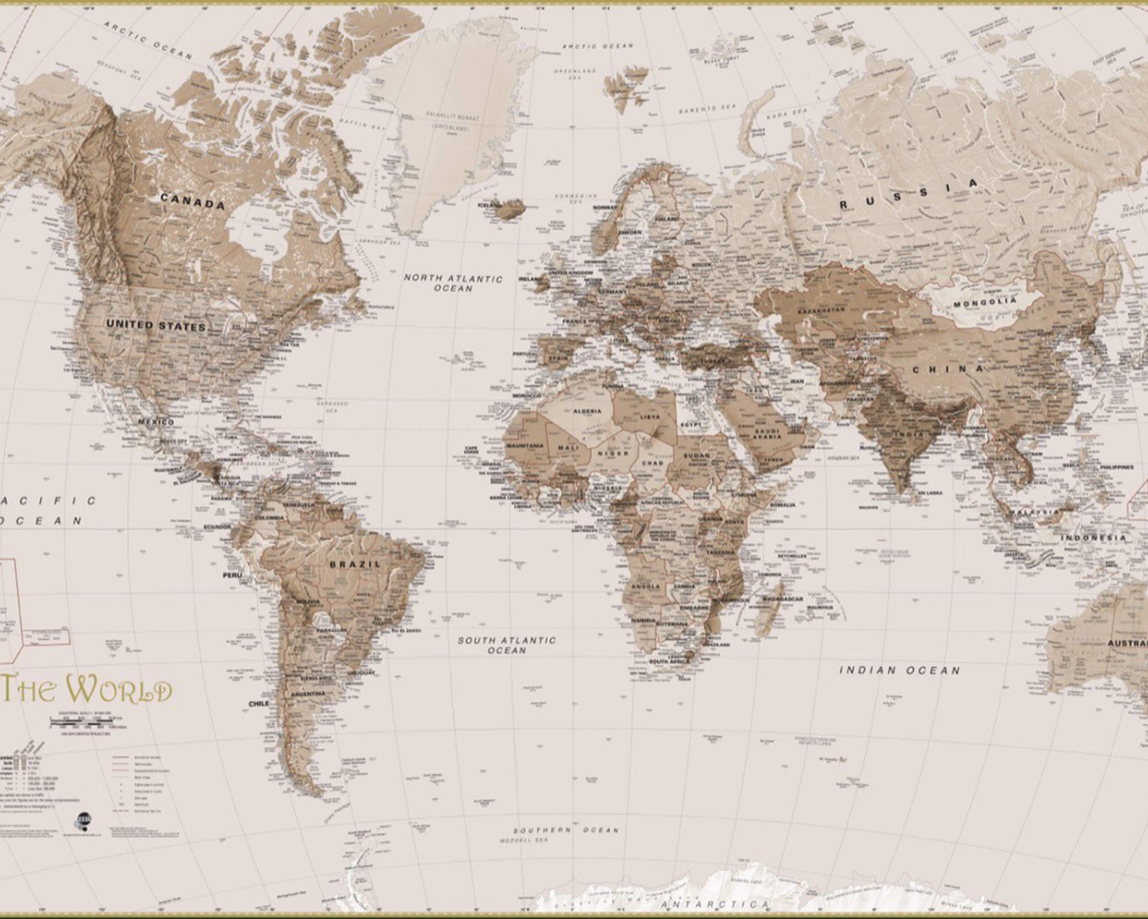 Free Download Earth Tone World Map Mural Wallpaper Murals Wallpaper 1650x1100 For Your Desktop Mobile Tablet Explore 74 Earth Map Wallpaper Earth From Space Wallpaper Planet Earth Wallpaper Earth