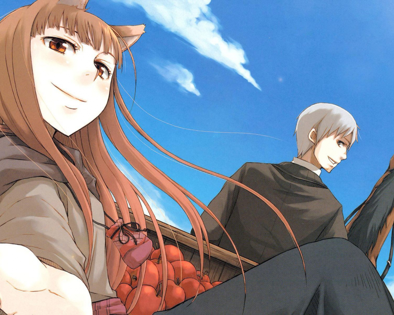Free Download And Holo Spice And Wolf Wallpaper Anime Wallpapers