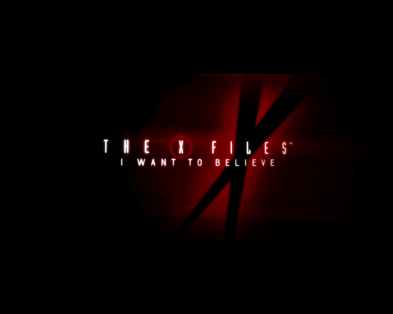 Free Download Black Background The X Files I Want To Believe