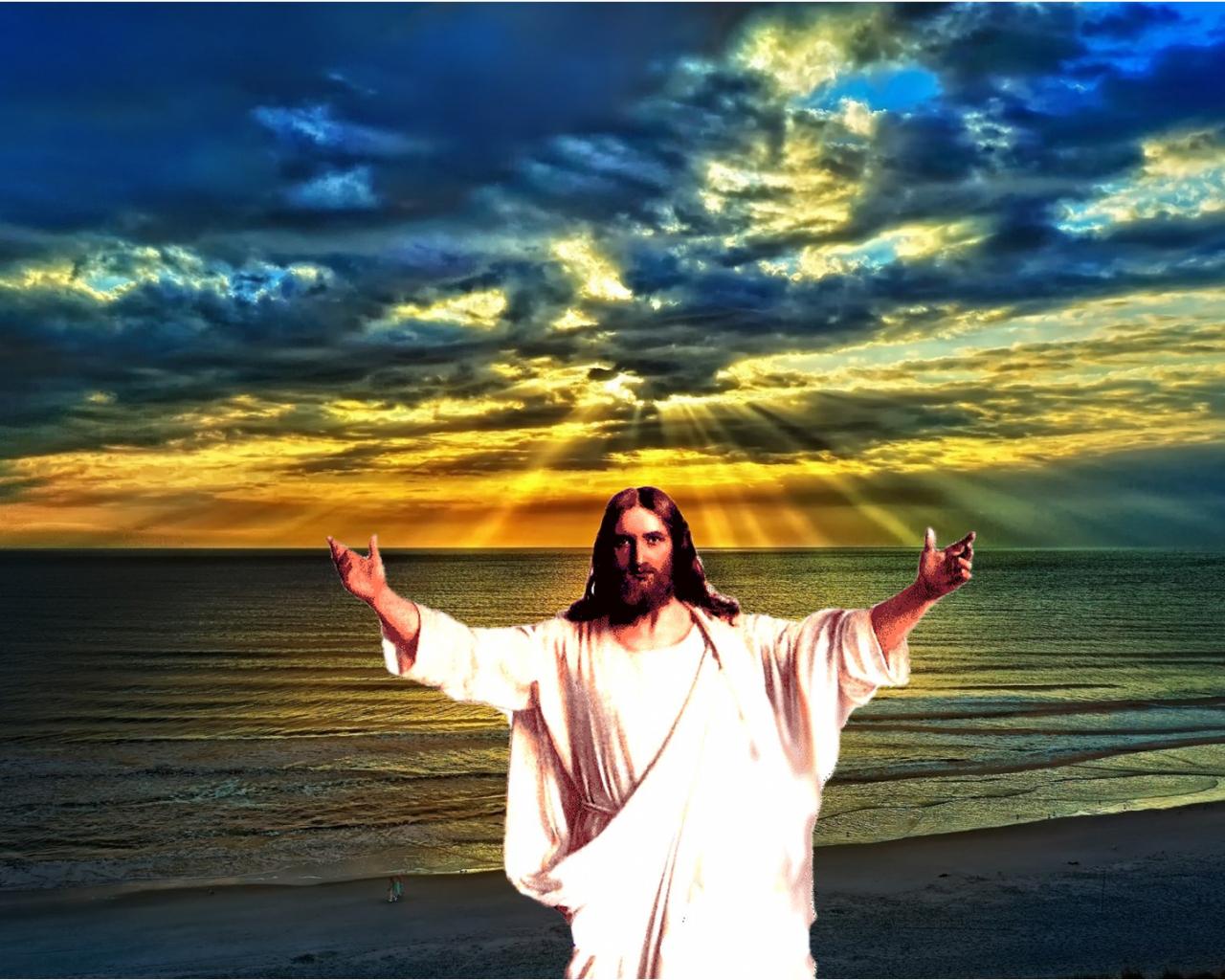 связанные картинки на рабочий стол иисус если